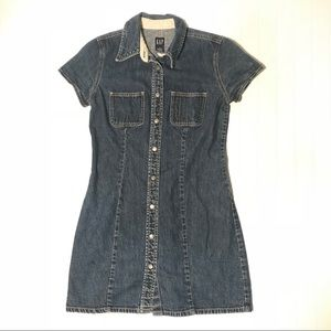GAP vintage denim dress